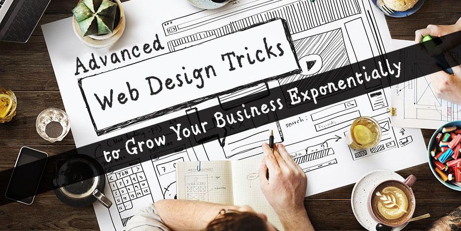 advanced web design tricks to grow your buisness - DeDevelopers