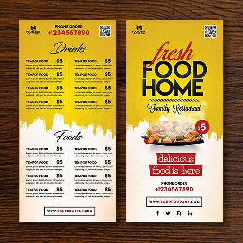 menu design Services in London UK - DeDevelopers