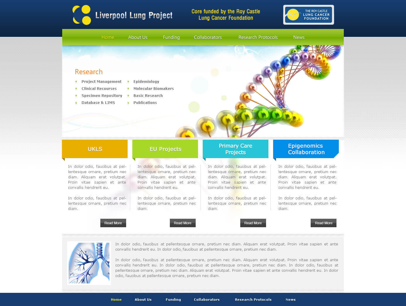 LiverPool Lung Project