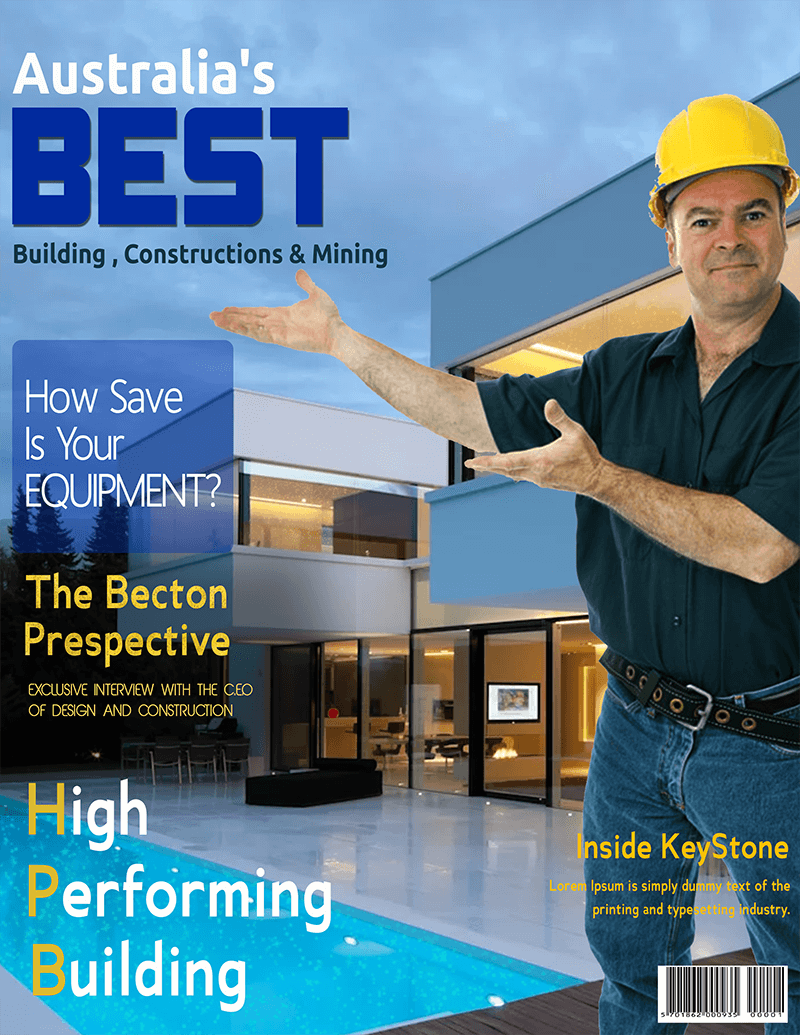Construction Magazine Cover