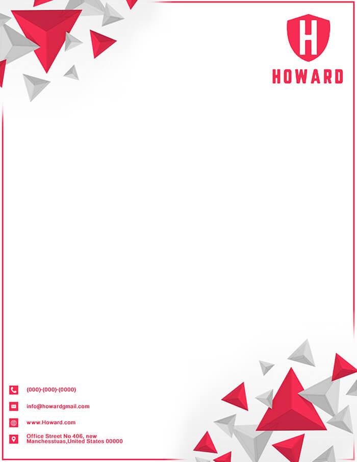 Howard Letterhead