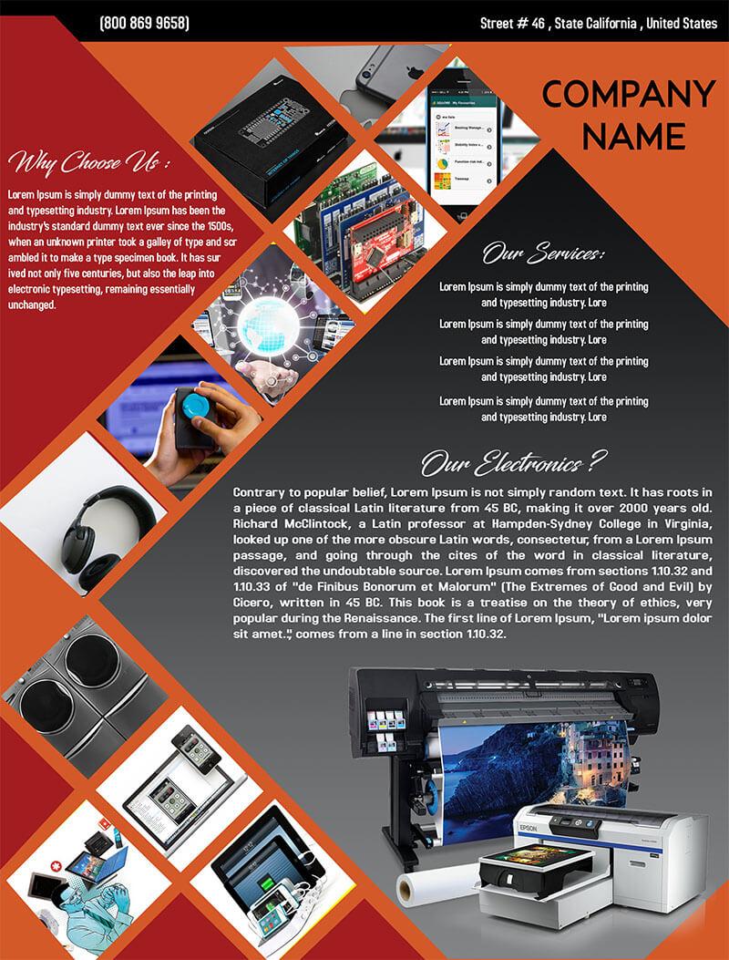 Electronics Flyer