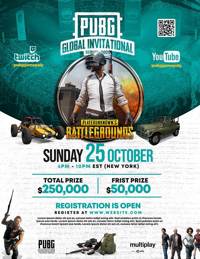 PUBG Global Invitation