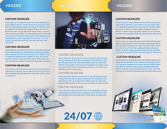 Website Hosting Brochure