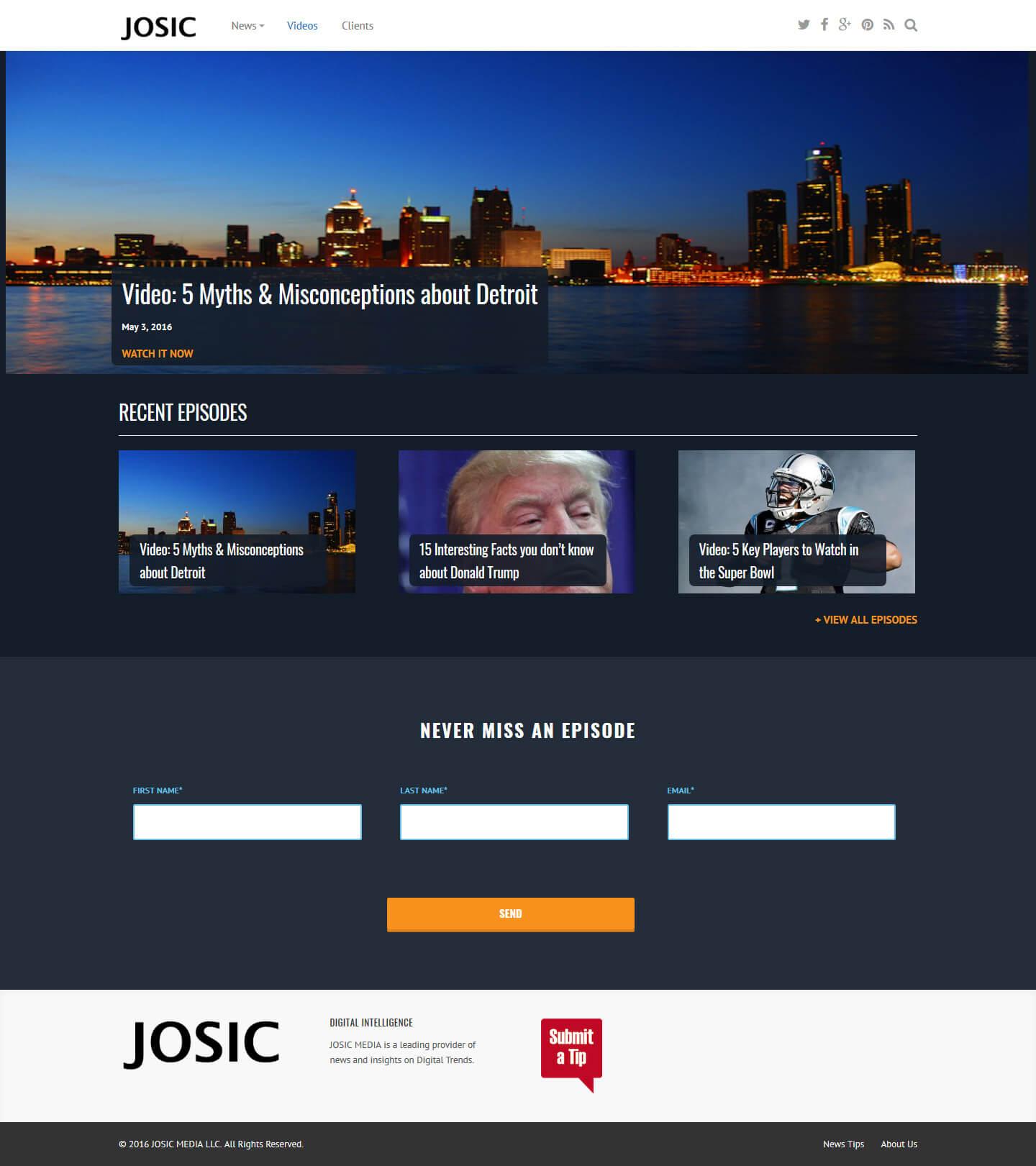 JOSIC - Digital Intelligence