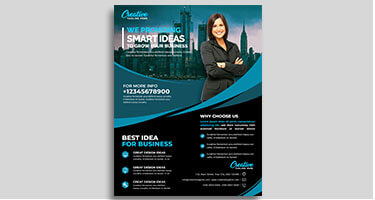 Smart Ideas Creative Flyer