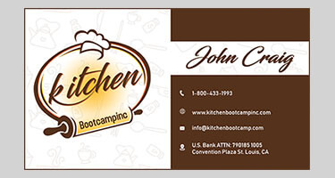 Kitchen Boot Camp Card