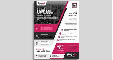 Flyer Design | Graphic Design Agency London | DeDevelopers