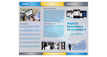 Website Hosting Brochure