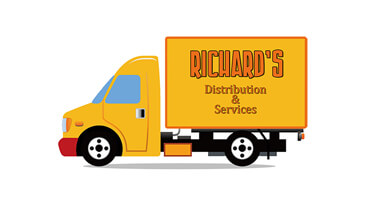 Richard's Distribution Logo